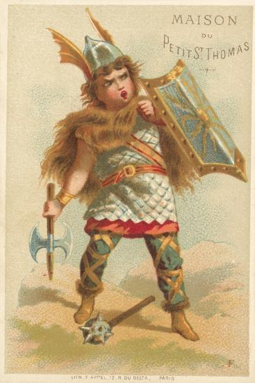 Warrior--Giclee Print