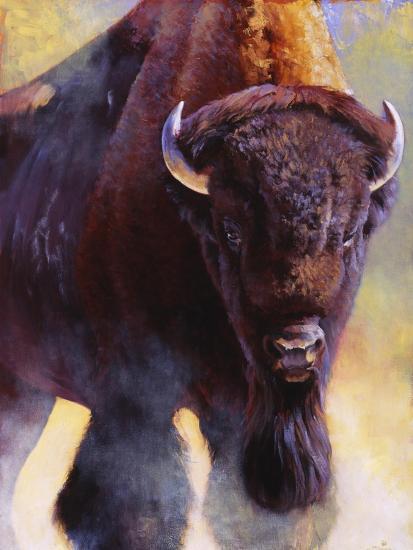 Warrior-Julie Chapman-Art Print