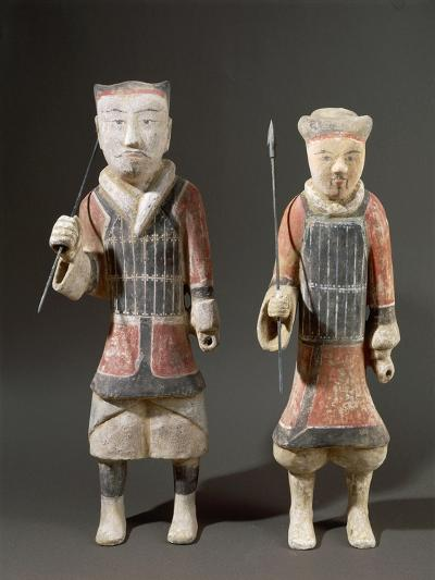 Warriors with Spears, Shanxi Region--Giclee Print