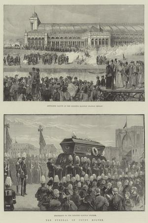 The Funeral of Count Moltke