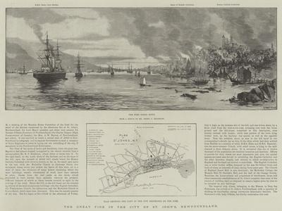The Great Fire in the City of St John'S, Newfoundland