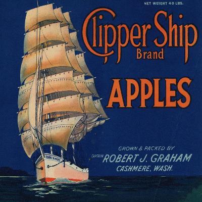Warshaw Collection of Business Americana Food; Fruit Crate Labels, Captain Robert J. Graham--Art Print