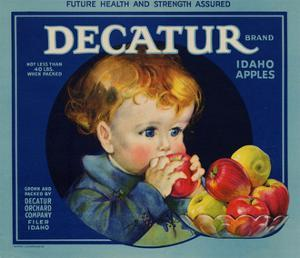 Warshaw Collection of Business Americana Food; Fruit Crate Labels, Dacatur Orchard Company