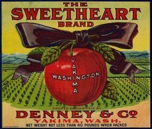 Warshaw Collection of Business Americana Food; Fruit Crate Labels, Denney & Co.