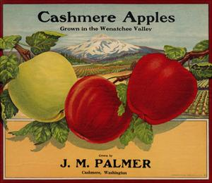 Warshaw Collection of Business Americana Food; Fruit Crate Labels, J. M. Palmer