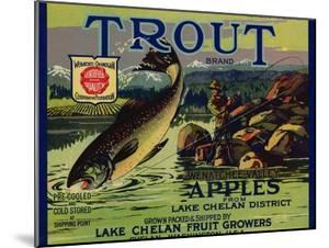Warshaw Collection of Business Americana Food; Fruit Crate Labels, Lake Chelan Fruit Growers