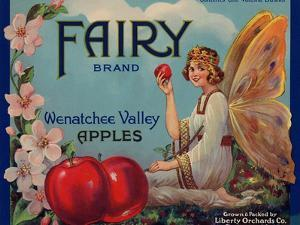 Warshaw Collection of Business Americana Food; Fruit Crate Labels, Liberty Orchard Co.