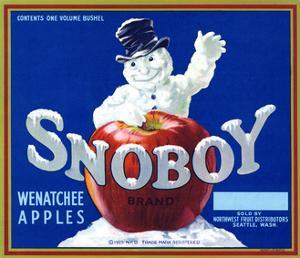 Warshaw Collection of Business Americana Food; Fruit Crate Labels, Northwest Fruit Distributors