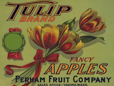Warshaw Collection of Business Americana Food; Fruit Crate Labels, Perham Fruit Company