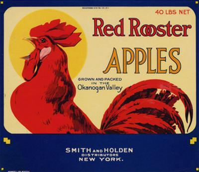 Warshaw Collection of Business Americana Food; Fruit Crate Labels, Smith & Holden Distributors