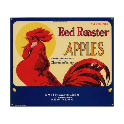 Warshaw Collection of Business Americana Food; Fruit Crate Labels, Smith & Holden Distributors--Art Print