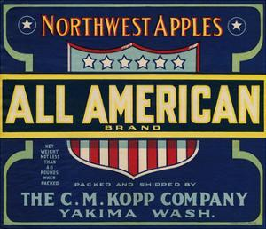 Warshaw Collection of Business Americana Food; Fruit Crate Labels, The C.M. Kopp Company