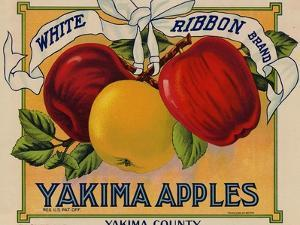 Warshaw Collection of Business Americana Food; Fruit Crate Labels, Yakima Horticultural Union