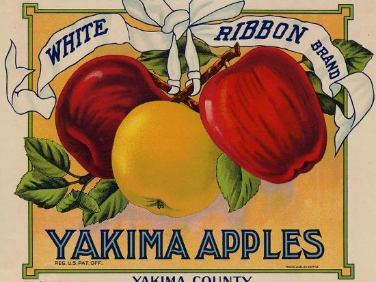 Warshaw Collection of Business Americana Food; Fruit Crate Labels, Yakima Horticultural Union--Premium Giclee Print