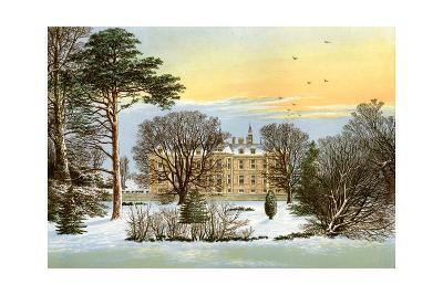 Warter Priory, Near Pocklington, Yorkshire, Home of the Wilson Family, C1880-Benjamin Fawcett-Giclee Print