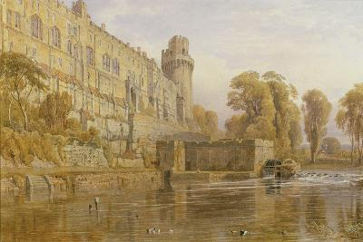Warwick Castle from the Avon-George Cruikshank-Giclee Print