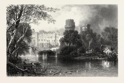Warwick Castle, UK, 19th Century--Giclee Print