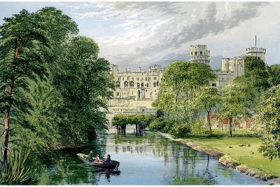 Warwick Castle, Warwickshire, Home of the Earl of Warwick, C1880-AF Lydon-Giclee Print