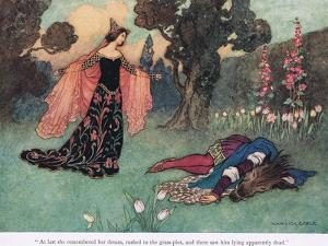 At Last She Remembered Her Dream by Warwick Goble