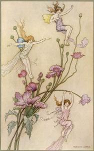 Fairies and Flowers by Warwick Goble
