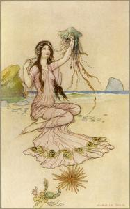 Fairy by the Sea by Warwick Goble