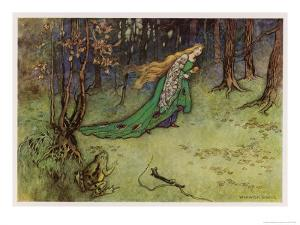 Frog Prince by Warwick Goble