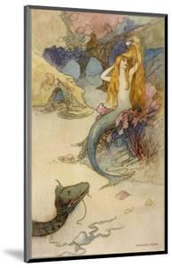 Mermaid Combing Her Hair by Warwick Goble