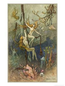 Sea Nymphs by Warwick Goble