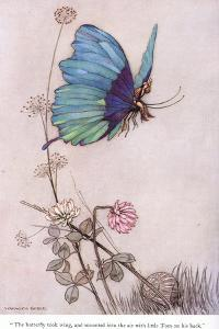 The Butterfly Took Wing by Warwick Goble