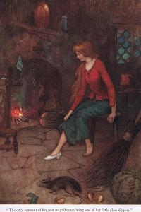 The Only Membrant of Her Past by Warwick Goble