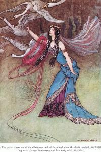 The Queen Threw One of the Shirts by Warwick Goble