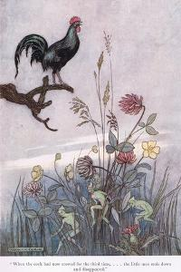 When the Cock Crowed for the Third Time by Warwick Goble
