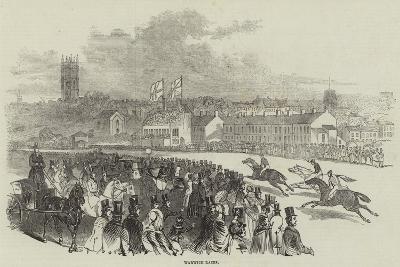 Warwick Races--Giclee Print