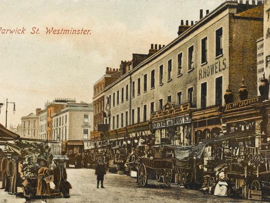 Warwick Way, Pimlico, London--Photographic Print