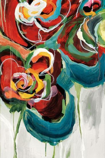 Wasabi Rose II-Angela Maritz-Art Print