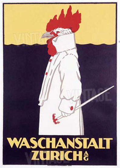 Waschanstalt Zurich- Hardmeyer-Giclee Print