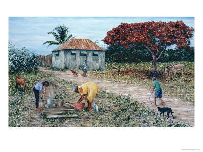 Wash Day-Victor Collector-Giclee Print