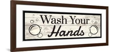 Wash Your Hands-ND Art-Framed Art Print