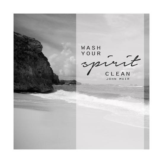 Wash Your Spirit, Turks and Caicos-Amber Berninger-Art Print