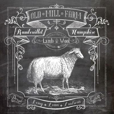 Chalkboard Sheep