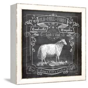 Chalkboard Sheep by Washburn Lynnea