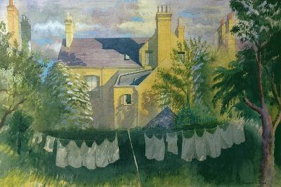 Washing at No. 25, Kingston-Osmund Caine-Giclee Print