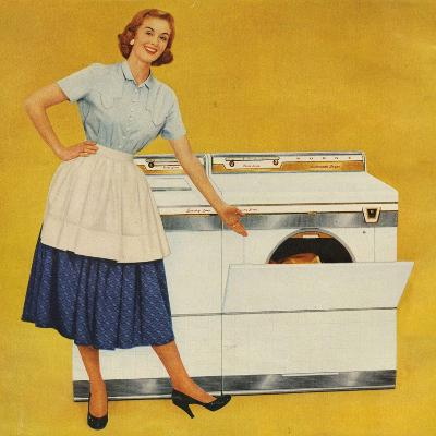 Washing Machines, USA--Giclee Print