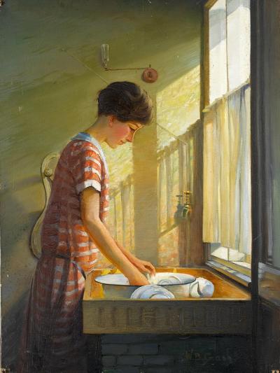 Washing Up, C.1924-25-Walter Bonner Gash-Giclee Print
