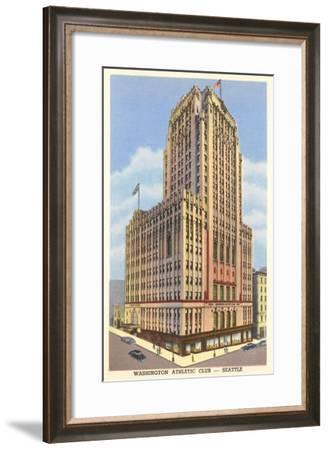 Washington Athletic Club, Seattle, Washington--Framed Art Print