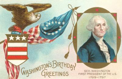 Washington Birthday Greetings