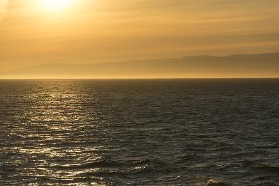 Washington, Canada, British Columbia. Strait of Juan De Fuca, Vancouver Island, Evening Light-Trish Drury-Photographic Print