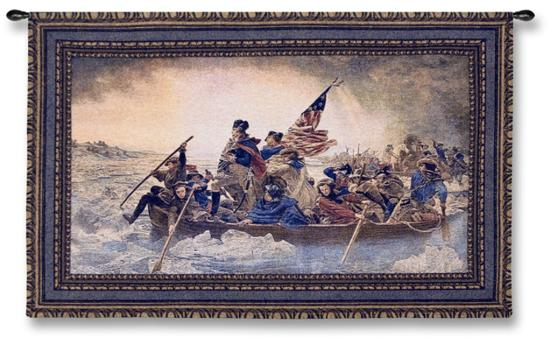 Washington Crossing the Delaware, c.1851-Emanuel Leutze-Wall Tapestry