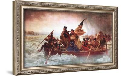 Washington Crossing the Delaware, c.1851-Emanuel Leutze-Framed Art Print