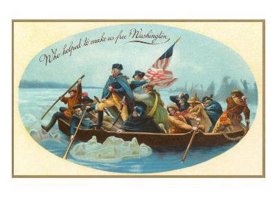Washington Crossing the Delaware--Art Print
